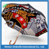 Allover Themal die de Digitale Paraplu van de Druk van de Druk Kleurrijke Automatische Houten afdrukken