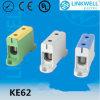 端子ブロック(KE62)を取付けるDINの柵