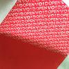 De Nietige Stickers van de garantie enkel voor het Gebruik van Één Keer