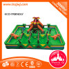 Dschungel Jumping Castles Kids Inflatable Game für Sale