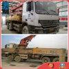 los 42m Shangai-Almacenaron el carro usado de la bomba del Isuzu-Chasis de la Sany-Bomba 2007 blancos de la Concreto-Salida