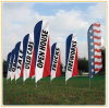 Flag Banner Display Flagpole (4.5m)