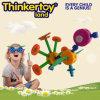 Jouet éducatif de puzzle d'oscillation de jardin de kit animal en plastique de jardin