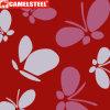 Горячие продажи шаблона в форме бабочки с полимерным покрытием Prepainted Al-Zn холодной стали катушек (PPGI PPGL GI GL)