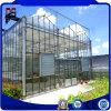상업적인 직류 전기를 통한 강철 프레임 정원 유리 온실