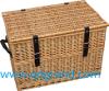 Lid를 가진 버드나무 Picnic Basket와 Wicker Storage Basket