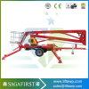 подъем человека 14m 16m передвижной гидровлический Towable ый артикулированный
