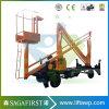 La Chine de haute qualité Mobile 10m 12m Cherry Picker pour la vente
