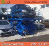 Оборудование для стоянки автомобилей с шарнирным механизмом гидравлической системы подъема
