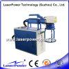 Máquina de la marca del laser de la fibra para el botón plástico