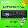Coche audio MP3 del coche con el precio bajo portuario de radio teledirigido MP3-2015 de Am/FM USB/SD Bluetooth