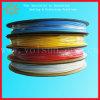 Tubo di plastica dello Shrink di calore trasparente libero dell'alogeno
