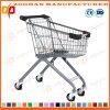 유럽 작풍에 의하여 선회되는 슈퍼마켓 쇼핑 카트 (Zht175)