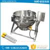 Bac 200L revêtu électrique commercial sanitaire, faisant cuire le matériel pour le potage