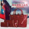 Il messaggero delle donne delle borse del sacchetto delle donne insacca i sacchetti stabiliti del composto