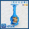 Литые стальные Didtek орбиты пробку клапана с помощью маховичка