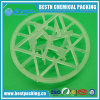 PE PVDF van pp de Plastic Verpakking van de Ring van de Sneeuwvlok voor Behandeling van afvalwater/de Behandeling van het Water van het Afval
