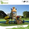 روضة أطفال ملعب صغيرة خارجيّة بلاستيكيّة خارجيّة
