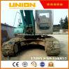 Usado escavadeira Kobelco SK200-5 Coveiro Hidráulico para venda