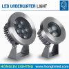 IP68는 6W LED 수중 빛을 바꾸는 색깔을 방수 처리한다