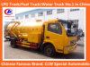 4*2 Vrachtwagen 6 van de Zuiging van de Riolering van Dongfeng de Vrachtwagen van de Zuiging van de Riolering van de Vrachtwagen 6000liters van de Zuiging van de Riolering van het Wiel