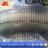 Tuyau renforcé en spirale de ressort de PVC de fil d'acier