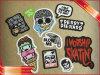 Sticker adhesivo de parte Sticker adhesivo de papel promocionales