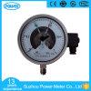 6  150mmすべてのステンレス鋼の電気接触の圧力計