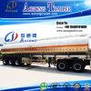 3つの車軸アルミニウムタンカーのトレーラー45000リットルの半食用油の