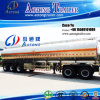 3 essieux 45000 litres d'huile de table de camion-citerne de remorque en aluminium semi