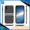 Fibra del carbonio con la cassa del telefono mobile di Stander per il iPhone 7