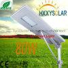Indicatore luminoso di via solare Integrated luminoso eccellente di 80W LED