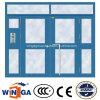 最も大きいサイズの開始機密保護の入口の鋼鉄ガラスドア(W-GD-34)
