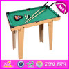 2014 piccolo Wooden Snooker Table, Snooker Pool Table Toy da vendere, Mini Wooden Toy Snooker Table Factory W11A032