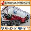 60cbm trocknen Massentanker-Kleber-Puder-Beförderung- mit Tankwagenhalb Schlussteil