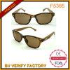 Gli occhiali da sole di bambù del tempiale F5385 comerciano i campioni all'ingrosso liberi della Cina