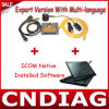 2014.12 Sachverständiges Mode Multi Languages Icom A2 +B+C mit Laptop für BMW Professional Tools