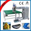 Verwendete PVC/PVC Band-aufblasbare Heißluft-nahtlose Dichtungs-Maschine