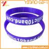 SilikonWristband, Silikon-Armband (YB-SM-05) kundenspezifisch anfertigen