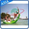 Дешевые товары надувной зеленый Seasaw используется в Водный Парк