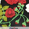 Crf0176 Muliti 색깔 꽃 메시 자수 최신 아프리카 레이스 직물