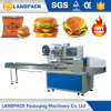 Heißer Verkaufs-Fluss-automatische Burger-Verpackungsmaschine
