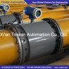 Индуктивный электромагнитный жидкостный счетчик- расходомер для обработки канализационного слива воды