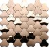 Современном стиле закрывается Gold металлической мозаики плитки