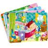 Design personalizado crianças raparigas Favor papel educativo quebra-quebra-cabeças de impressão