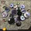 Black Mop Suit Botões Botões Pérola Natural fatos para Botões de Shell Genuíno
