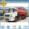 Dongfeng 6X4 진흙 유조 트럭 16 M3 하수 오물 진창 수송 트럭