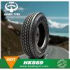 Neumático 11r22.5 295/75r22.5 del carro de acoplado de la carretera del avión transcontinental