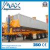 60ton 3axle Hydraulic Dump Truck Trailer für Sale