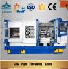 선반을 밟는 Qk1319 CNC 공작 기계 관